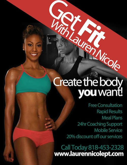 Lauren Nicole Personal Training Deal in Los Angeles
